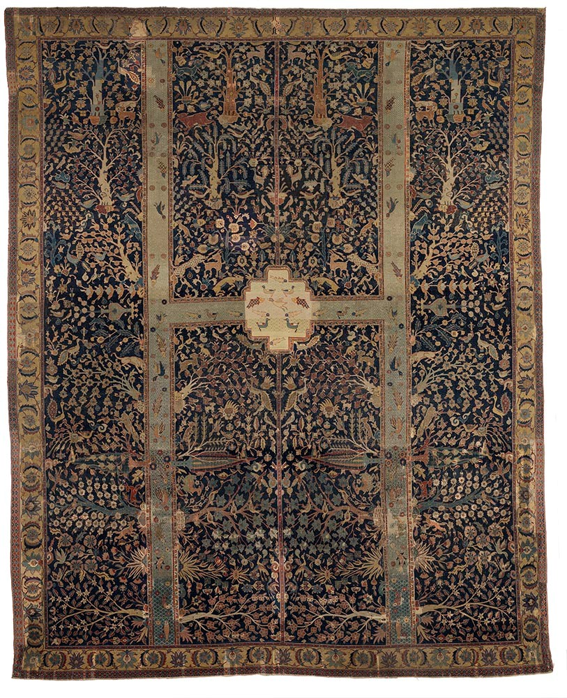 Garden Paradise: The Magnificent Safavid Carpet from the Burrell ...