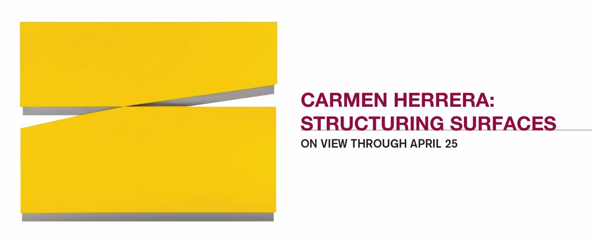 Carmen Herrera: Structuring Surfaces