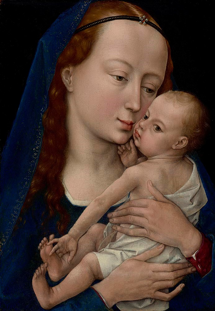 Weyden Virgin and Child