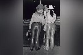 Winningham- Lamé Pants
