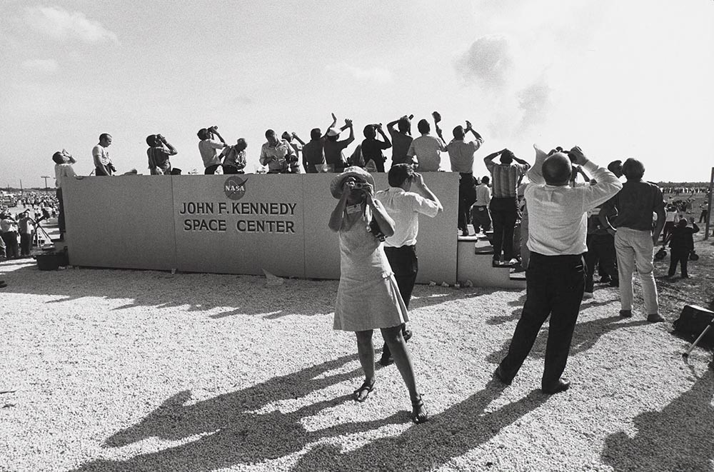 Winogrand - Apollo 11 Moon Launch