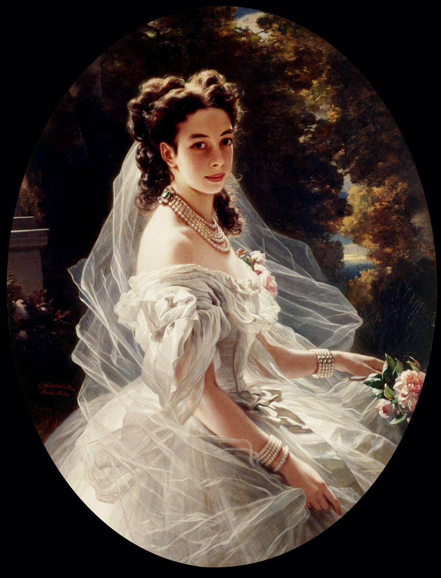 Franz X. Winterhalter, Pauline Sándor, Princess Metternich