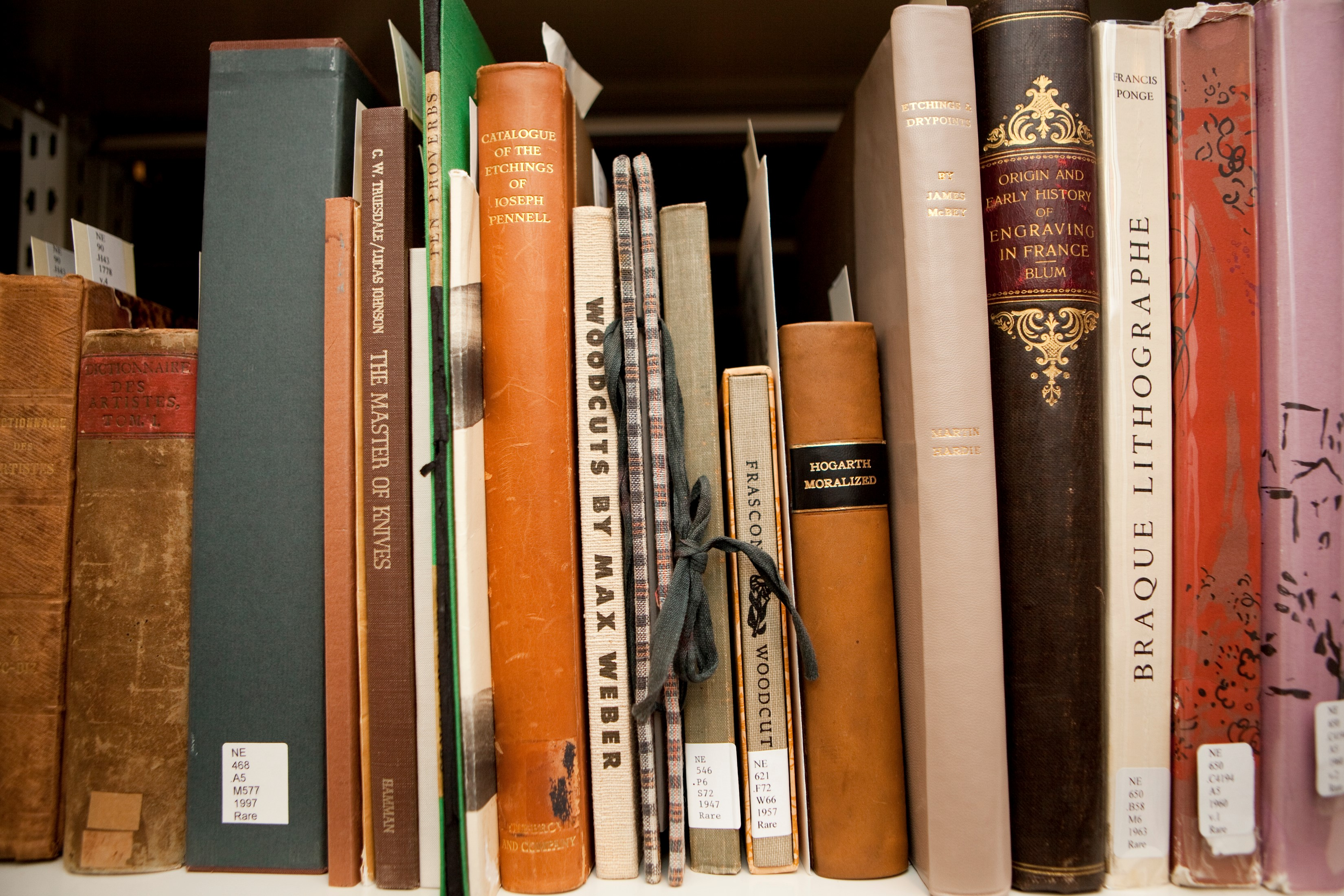 WOP study center library collex